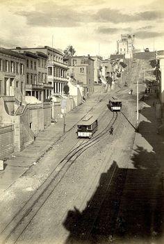 Telegraph Hill, San Francisco, ca.1900.