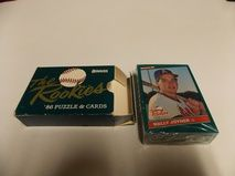 1986 Donruss The Rookies Sealed Set Barry Bonds Bo Jackson XRC 10's    BRAND NEW AND SEALED     $9.95