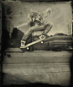 foursquare wet plate collodion project. Ian Ruther