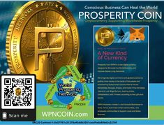 #Worldprosperitycoin ~ Support a Currency that is giving back to the Global community