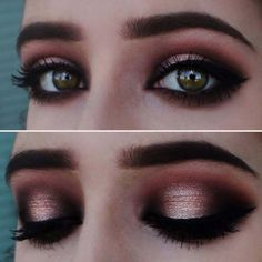 Eyeshadow Tutorials for Beginners - Neutral Glam - Step By Step Tutorial Guides For Beginners with Green, Hazel, Blue and For Brown Eyes - Matte, Natural and Everyday Looks That Are Sure to Impress - Even an Awesoem Video on a Dramatic but Easy Smokey Look - thegoddess.com/eyeshadow-tutorials-beginner