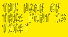 Utopias and Magnificent Obsessions — Eventi Letterari 2013 - Fonts In Use