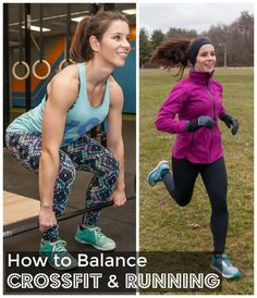 How to Balance CrossFit and Running http://carrotsncake.com/2016/08/balancing-crossfit-and-running.html
