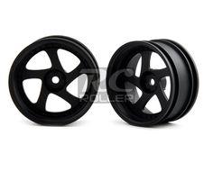 Car Parts :: Tire / Wheel / Disk :: MST 102045FBK Silver black TMB wheel (+8) (4) -