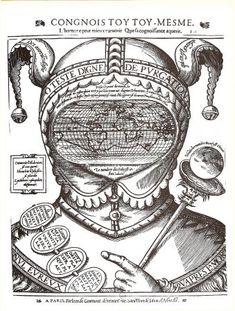 "Jean de Gourmont - ""Congnois toy toy mesme - xylographie  c. 1575 -"