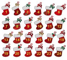 As children count down the days to Christmas with their confectionary-filled Advent Calendars we at The Drum thought we'd treat our readers to a very special Drum Advent Calendar. Days To Christmas, Crochet Christmas Gifts, Noel Christmas, Christmas Crafts, Christmas Decorations, Christmas Stockings, Christmas Calendar, Diy Advent Calendar, Kids Calendar
