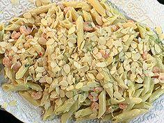Macarrão da Carole | Carole Crema FOX Play Carole Crema, Pasta Salad, Cabbage, Fox, Play, Vegetables, Ethnic Recipes, Crab Pasta Salad