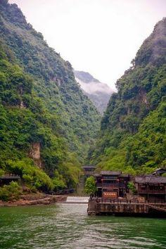 Yangtze River, China . -