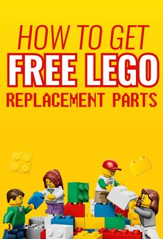 LEGO set missing a few pieces? Here's how you can score replacement parts! Lego For Kids, Toys For Boys, Instructions Lego, Lego Challenge, Lego Club, Lego Activities, Free Lego, Lego Craft, Lego Room