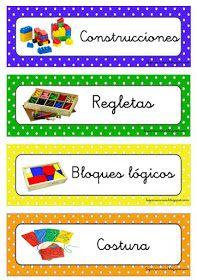 RECURSOS DE EDUCACIÓN INFANTIL: NUEVAS ETIQUETAS Colegio Ideas, File Folder Games, Classroom Decor, Ideas Para, Preschool, Play, Colouring In, Moldings, Drawings