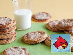 One Flew Over the Bad Piggies' Castle Egg Yolk Cookies