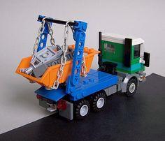 Lego City Truck, Lego Hospital, Lego Technic Truck, Micro Lego, Lego Activities, Lego Vehicles, Cool Lego Creations, Lego Models, Lego Projects