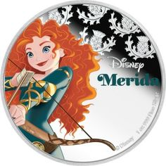 2 Dollar Silber Disney Prinzessinnen - Merida PP