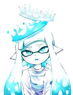 Splatoon art is great Splatoon Squid, Nintendo Splatoon, Splatoon 2 Art, Splatoon Comics, Pokemon, Deutsche Girls, Character Art, Character Design, Manga Games