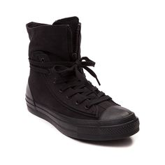 Shop for Converse Chuck Taylor Combat Boot in Black at Journeys Shoes. Shop today for the hottest brands in mens shoes and womens shoes at Journeys.com.Boot up for fall with the new Chuck Taylor Combat Boot from Converse! The Chuck Taylor Combat Boot features a high top canvas and leather combination upper with lace up closure, tongue zipper accent, and durable rubber outsole. Available only online at Journeys.com!