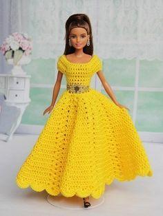 """6 Häkelanleitungen + 1 Nähanleitung Puppenkleidung Serie """"Swing"""" Knitting TechniquesKnitting For KidsCrochet Hair StylesCrochet Baby Barbie Clothes Patterns, Crochet Barbie Clothes, Doll Clothes Barbie, Clothing Patterns, Dress Patterns, Barbie Doll, Dress Barbie, Barbie Gowns, Crochet Barbie Patterns"""