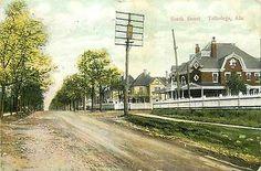 AL-TALLADEGA-SOUTH STREET-MAILED 1911-TOWN VIEW-T62985