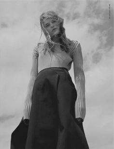 Hunter Magazine | Kia Low in Celine by Francesco Nazardo