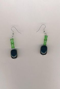 Silver-Plated/Stainless Steel Black Onyx Gemstone and Glass Bead Earrings. I support Military families. Looking to buy something special for a lady in the Military or family member in the Military? I offer top-quality jewellery. CHEAPLY-PRICED. FREE NECKLACE GIFT with every purchase. The more items you buy the more free necklace gifts you receive. Visit my online shop and I'll start taking your orders: https://www.etsy.com/ca/shop/JehovahJJewellery?ref=si_shop