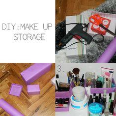 #diy #makeup #storage