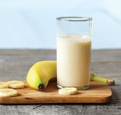 Basic Fruit Smoothie -- With just three simple ingredients, this thick and creamy smoothie is a great way to join the smoothie revolution.