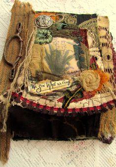 Suzi Q.  wow... what a nice piece....  #cloth #embroidery #stitchery