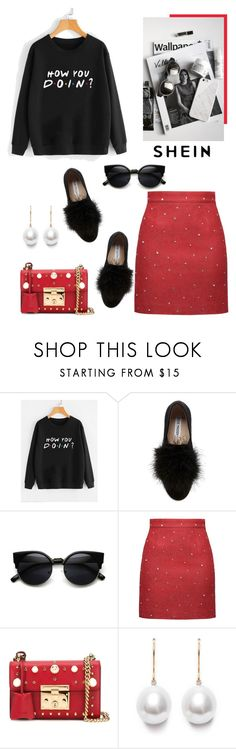 """Mix&match"" by isidora ❤ liked on Polyvore featuring Steve Madden and Gucci"