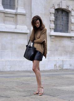 black and brown forever. perfect early fall outfit!