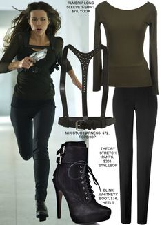 Copy Kate Beckinsale's Sexy Military Look From Total Recall