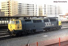 Locomotora 333.074 de Renfe Largo Recorrido