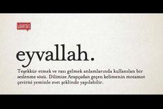 Bazı kelimeler çok güzeldir :)