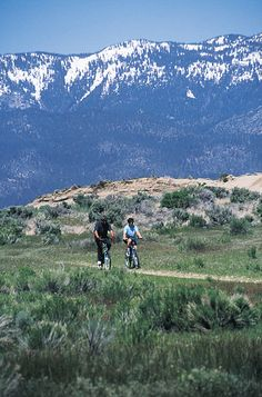 Biking trails in Reno, NV!