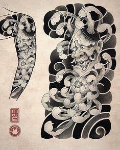 Sick full back tiger tattoo idea.. art design done by @ryuzen_oriental #irezumitattoo #japanesetigertattoo #tigerpainting #japanesetattoo… Japanese Warrior Tattoo, Japanese Tattoos For Men, Japanese Flower Tattoo, Japanese Tattoo Symbols, Traditional Japanese Tattoos, Japanese Tattoo Designs, Japanese Sleeve Tattoos, Hannya Maske Tattoo, Oni Tattoo