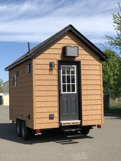 13 Foot Tiny House With A Main Floor Bedroom 0013 Off Grid