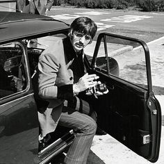 RINGO STARR: Every Beatle bought a Mini Cooper in the Sixties as everyday runarounds. [no photo credit given at source] via dailymail.co.uk