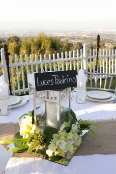 Outdoor Engagement Party Table Setting | Planning, Coordination and ...