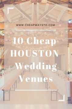 Best Wedding Venues In Houston Tx This Winter Evenuebooking Presents You With Some Of The W