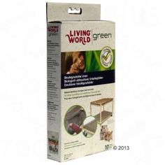 Living World Green Biodegradable  Cage Liners Guinea Pig Accessories, Guinea Pigs, Cage, Biodegradable Products, Pets, Green, Animals And Pets