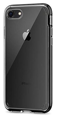 Spigen Neo Hybrid Crystal  2nd Generation  iPhone 8 Case   iPhone 7 Case  with Clear Hard Casing and Reinforced Hard Bumper Frame for Apple iPhone 8  (2017) ... 4fec1c57c5fa5