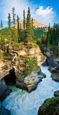 Glaciar Canyon Banff, Canada