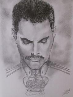 El Arte  de Francisco Portacelli: Freddie Mercury .