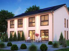 SH 127 S DHH von ScanHaus  Wohnfläche gesamt 127 m² Zimmeranzahl 4   Mehr Infos einholen auf der #Fertighaus.de Webseite: https://www.fertighaus.de/nutzung/doppelhaus/?utm_source=Pinterest&utm_medium=Pinterest&utm_campaign=Doppelh%C3%A4user&utm_content=Doppelh%C3%A4user  Doppelhaus, Zweifamilienhaus, Haustypen, Barrierefrei, Hausbau, Luxushaus, Familienhaus  www.fertighaus.de