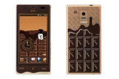 Smart phones like chocolate