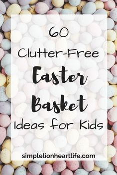 60 Clutter-Free Easter Basket Ideas for Kids Declutter. Minimalism with kids. basket ideas 60 Clutter-Free Easter Basket Ideas for Kids - Simple Lionheart Life Easter Quotes, Easter Bunny Decorations, Easter Decor, Holiday Decorations, Easter Crafts For Kids, Kid Crafts, Easter Baskets, Easter Basket Ideas, Craft Stick Crafts