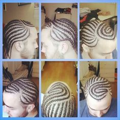 #JustaTaste of the #MagicFingers  Curvy braided designs