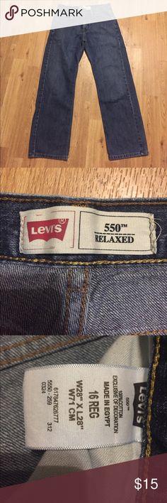 Boys Levi's 16 reg Boys Levi's 16 reg Bottoms Jeans