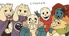 All the lil' monsters #Littletale #UndertaleAU