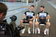 #OPQS riders Iljo Keisse and Mark Cavendish trained for Lotto Zesdaagse Vlaanderen-Gent the past few days!!
