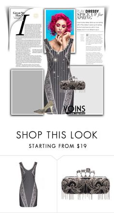 """""""yoins"""" by mirka31 ❤ liked on Polyvore featuring Alexander McQueen"""