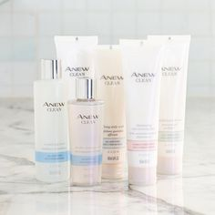 Clean skin is the first step to beautiful skin. We ❤️ our ANEW Clean collection!